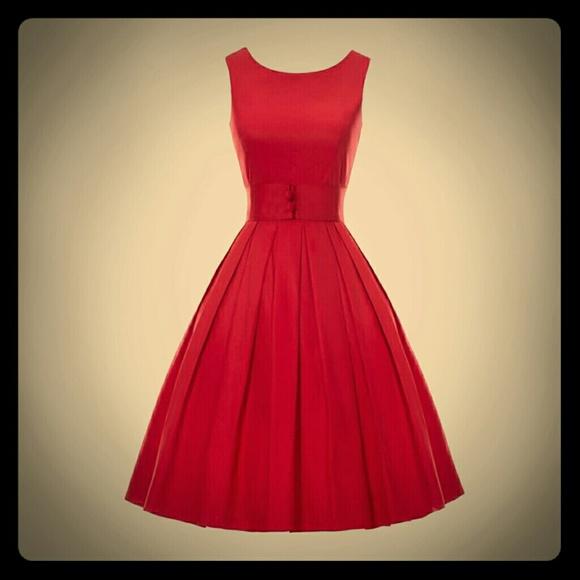 Dresses & Skirts   Sample Text Vintage 1950s Retro Cocktail Dress ...