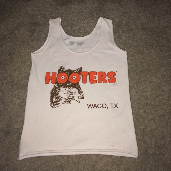 93c45acd478607 Hooters Tops - Hooters Uniform Tank Top! SMALL!