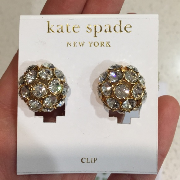 Kate Spade Jewelry Nwt Clip Earrings Never Been Worn Poshmark