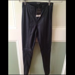 New TopShop Faux Leather Pants