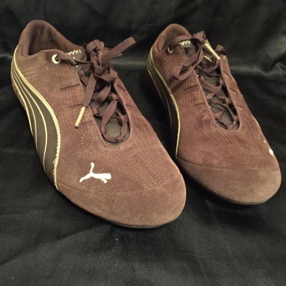 5295a60ddd4 Puma Shoes - ❤️SALE❤ Puma women s brown suede sneakers