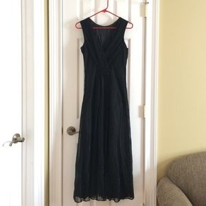 Formal Black Evening Gown