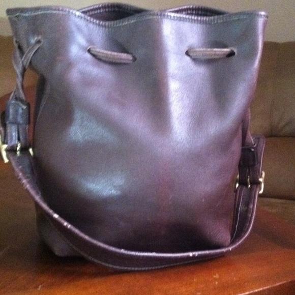 53f57ac49941f Coach Handbags - Vintage Coach Drawstring Bucket Bag