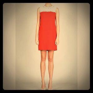 Ark & Co Dresses & Skirts - Ark & Co Orange Studded Shift Dress
