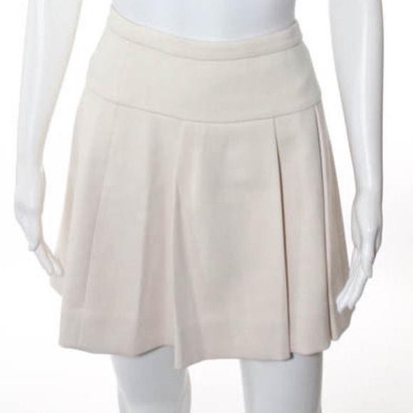 be351dc1a8 J. Crew Skirts | J Crew Winter White Pleated Skirt | Poshmark