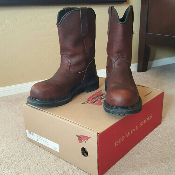 323c9701417 Red Wing Steel Toe Leather Work Boots Dynaforce