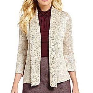 Alex Marie Sweaters - Alex Marie Natalie sequin Cardigan Sweater