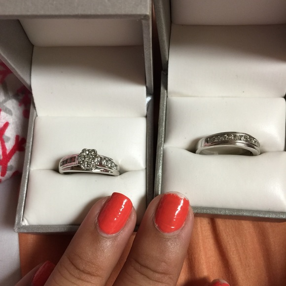 60 off Sears Jewelry Engagement ring set from Veronicas closet