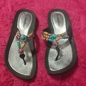 Adorable and awesome Lil beach sandals