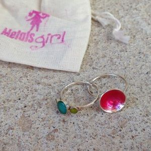 MetalsGirl Jewelry - 🎉MAKE ME AN OFFER📦 Colored PopRock rings