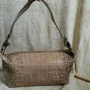 Francesco Biasia Handbags - FINAL DROP!!  Authentic Francesco Biasia croc bag