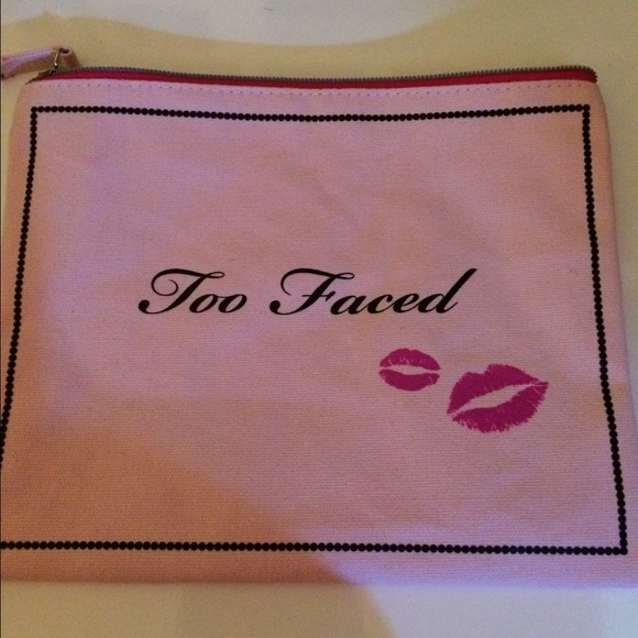 Too Faced - Too Faced makeup bag from Bella\'s closet on Poshmark