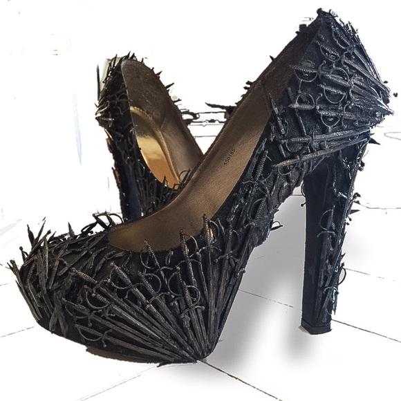 Game Of Thrones Custom Heels Platforms
