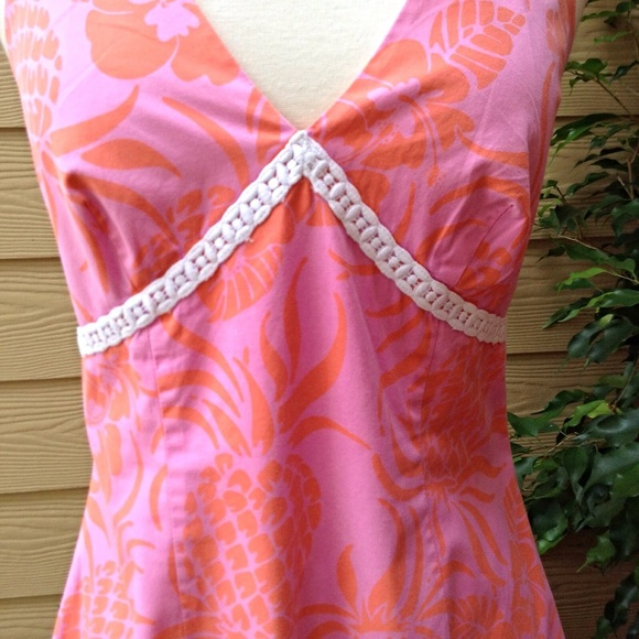 lilly pulitzer lilly pulitzer pineapple print halter dress from marcia suggested user 39 s. Black Bedroom Furniture Sets. Home Design Ideas