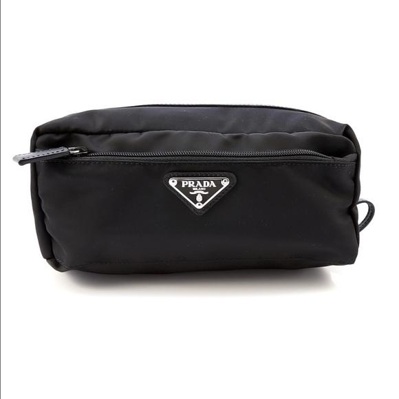 b12f797e0f20 Prada Bags | Mv28 Tessuto Cosmetic Bag Black | Poshmark