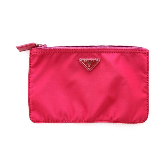 84b06634d467fd Prada Bags | Nylon Cosmetic Pouch Bag 1n0400 Ibisco | Poshmark