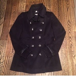 Burberry navy coat