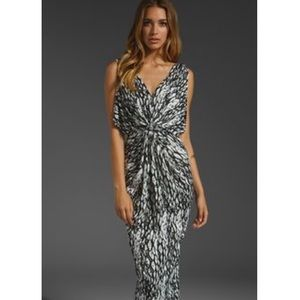 T-Bags Dresses & Skirts - T Bags black white Venezia maxi dress!