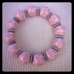 Angela Moore Jewelry - Angela Moore wooden bead bracelet