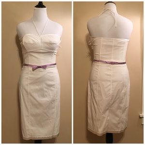 NWT express little white dress