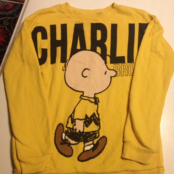 60% off Forever 21 Sweaters - 💛Charlie Brown Sweater💛 from Fawn ...