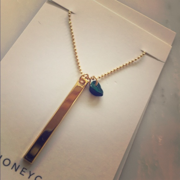 Jewelry Handmade Minimalist Delicate Gold Jade Poshmark