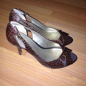 Nine West heels open toe