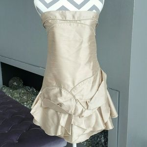 🌟Champagne formal dress NWOT
