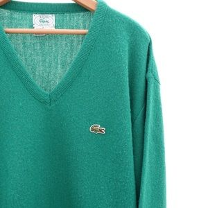 Izod Lacoste Green Sweater