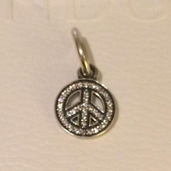 Pandora Jewelry Authentic Symbol Of Peace Charm Poshmark