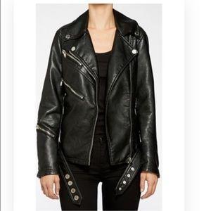 Blank NYC Jackets & Blazers - blank NYC faux leather moto jacket.