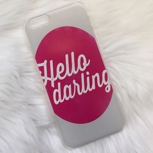 Hello Darling iPhone 6/6s Case