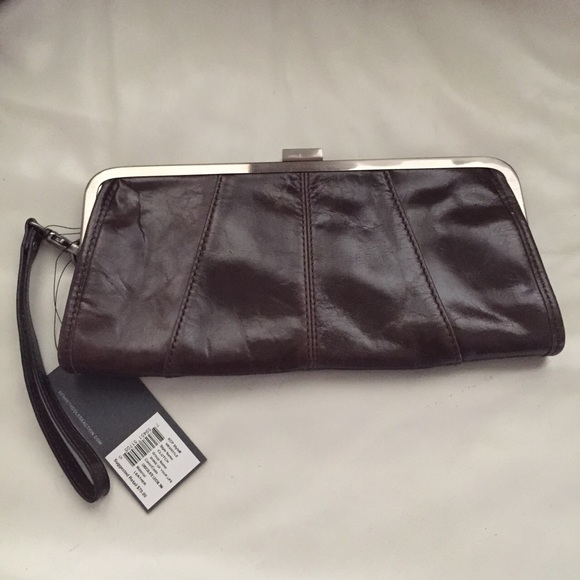 cheaper sale elegant shape modern style Kenneth Cole reaction dark brown clutch bag NWT