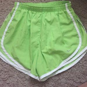 Nike pro running shorts
