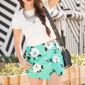 Design lab Pants - Floral skort
