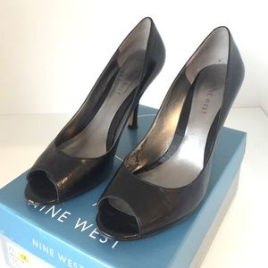 Nine West Shoes - FREE Nine West Black Peep Toes