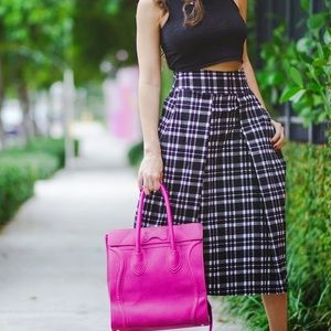 Joa Dresses & Skirts - Plaid midi skirt