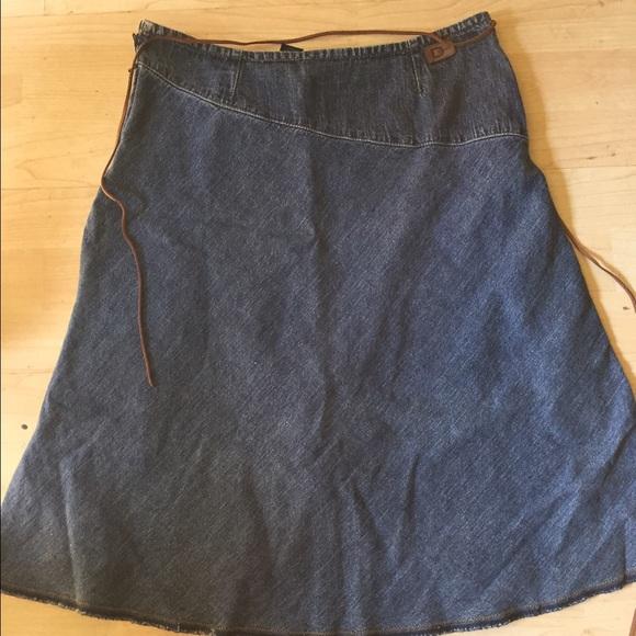 70 dkny dresses skirts dkny soft jean skirt from