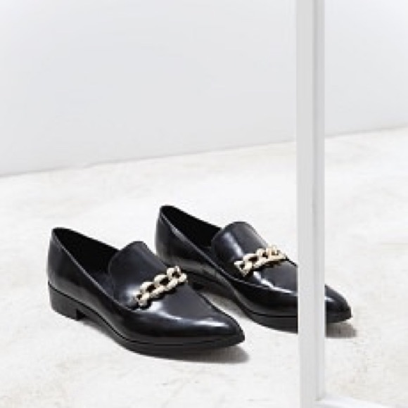 Mango Shoes | Mango Pointed Toe Loafers