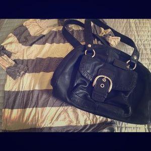 Coach Handbags - Coach leather domed satchel