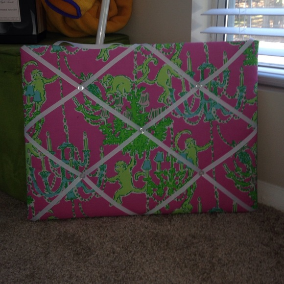 Lilly Pulitzer Other Memo Board Poshmark Gorgeous Lilly Pulitzer Memo Board
