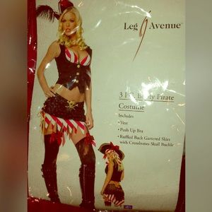 5pc Booty Pirate Costume