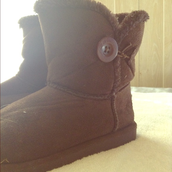 38 shoes brown fuzzy boots from sophe s closet on