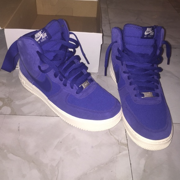 the best attitude 64874 5735d coupon nike air force 1 royal blue high top 2cd8c 3b5e3