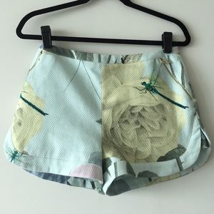 Ted Baker Pants - Ted Baker floral shorts