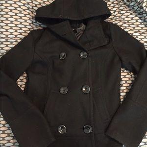 sale! Hooded pea coat