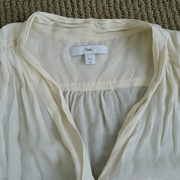 Sheer Sleeveless Bow Blouse 10