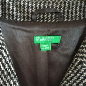 Benetton Jackets & Coats - United Colors of Benetton Women Long Wool Coat