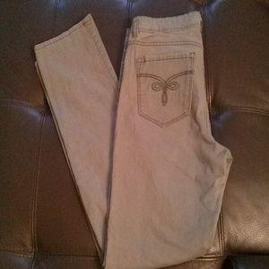 Grey Jordache 1979 Slim Fit Jeans.