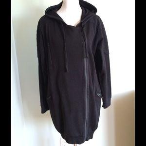 All Saints Jackets Coats Ridley Hoody Black Uk 14us 10 Poshmark